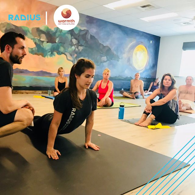 The Radius team dishing up happy shoulders and wrists on Saturday. Thanks for hosting, @warmthstudios ! #expandyourradius #yoga #injuryprevention #yoga #shoulders #wrists #movementismedicine