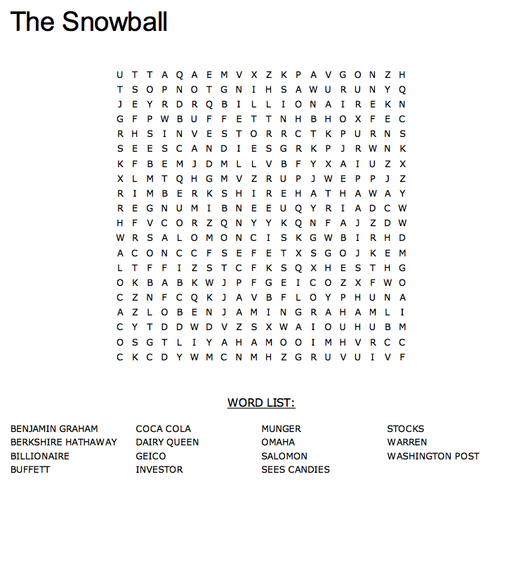 You can print the page or click the word search to complete it online at mywordsearch.com