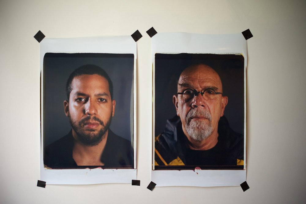 CHUCK CLOSE + DAVID BLAINE