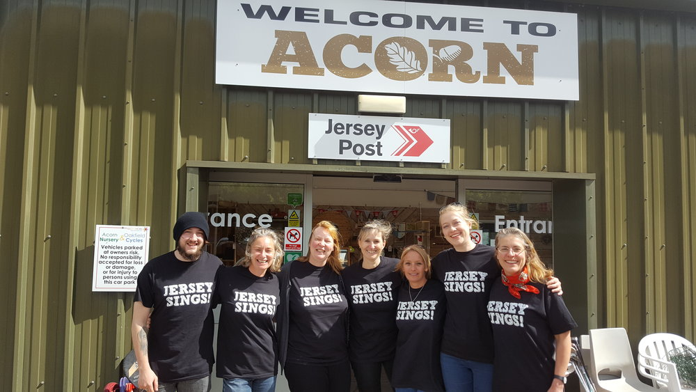 Music in Action's 2017 Jersey Sings Team