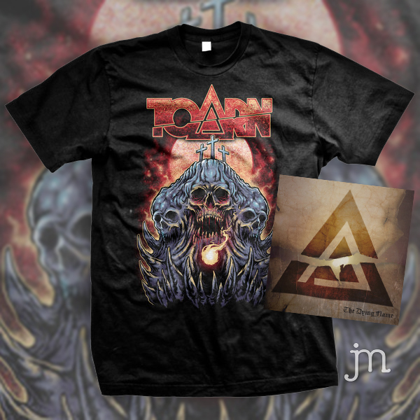 Toarn Tee/CD merch bundle