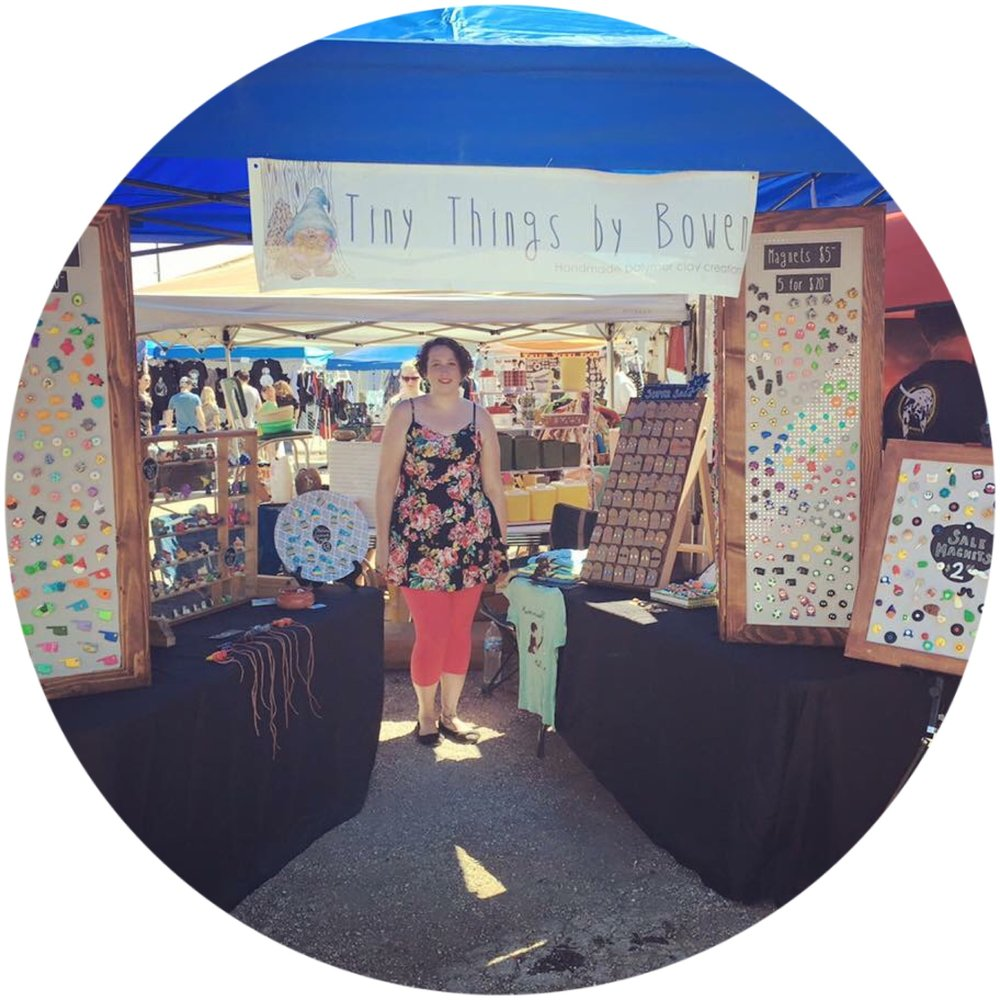 Follow Tiny Things by Bowen on Facebook to see where you can find the booth next!