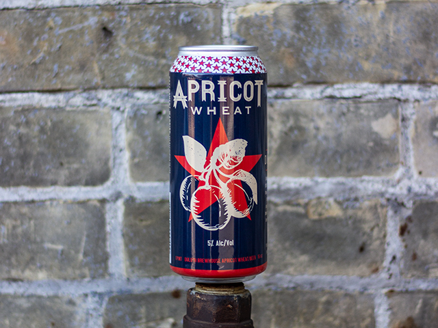 Apricot Wheat - Fruit Beer5% ABV13 IBUOne of our year-round standards. It is a marriage of an American Wheat ale with apricot juice. The spicy wheat balances the fruit perfectly. Apricot Wheat is a light-bodied beer with a crisp finish.