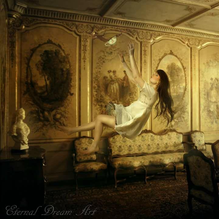 Y para finalizar os dejo con esta imagen de Magaly Ramo que  PODÉIS VER AQUÍ creo que sobran las palabras para explicar esta escena llena de romanticismo.