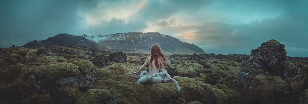 La naturaleza es el sexto reto de nuestra comunidad. Este trabajo lo realicé en Islanda con mi amiga Rebeca