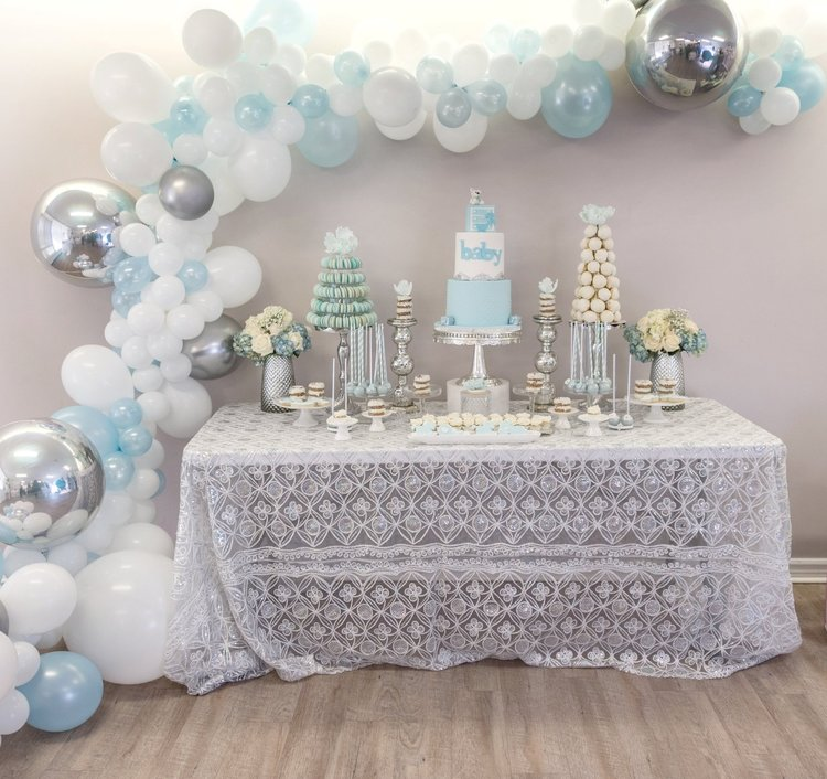 My Baby Blue Themed Shower H A N A N