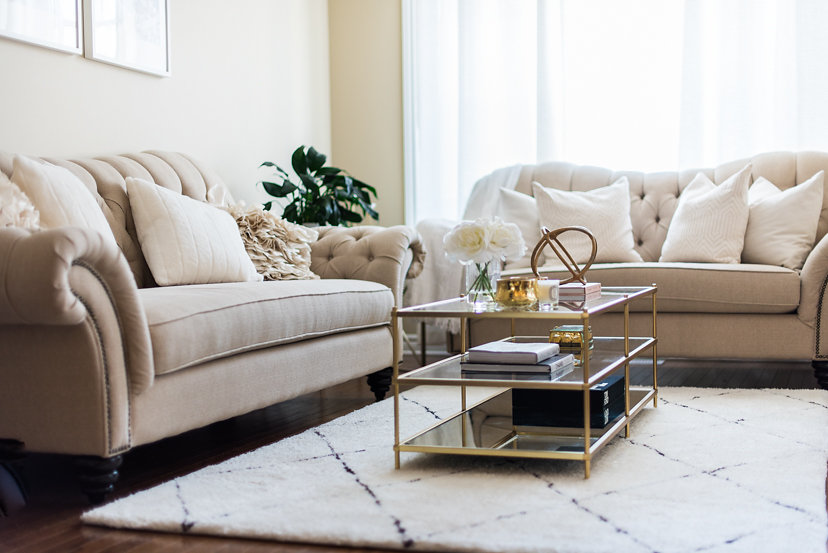 Glass Coffee Table with Gold metal.jpg
