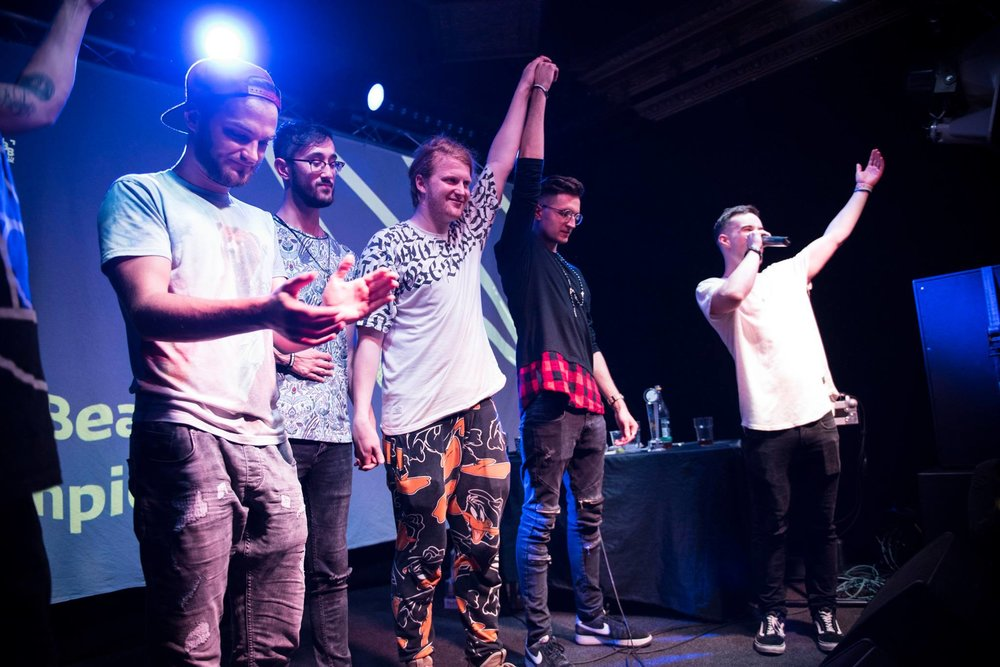 MAGIC RETAINS HIS TITLE AS IRISH BEATBOX CHAMPION