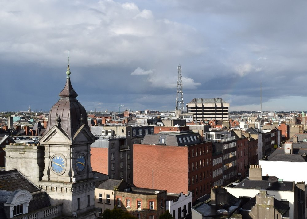 DUBLIN CITY CENTRE SKYLINE