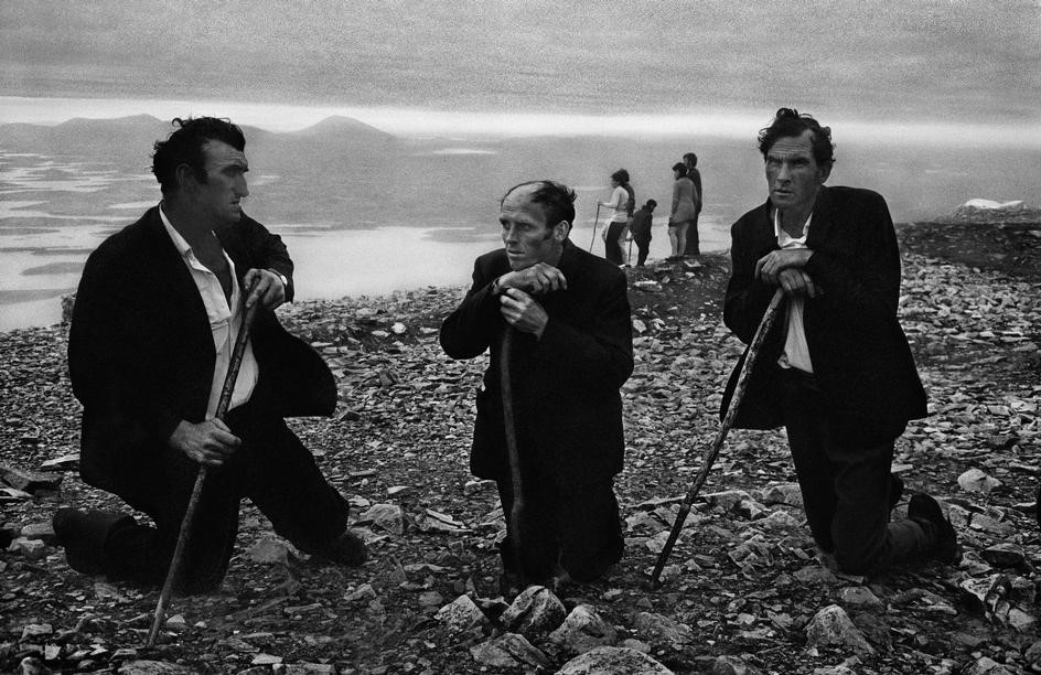 A pilgrimage up Croagh Patrick, 1972.