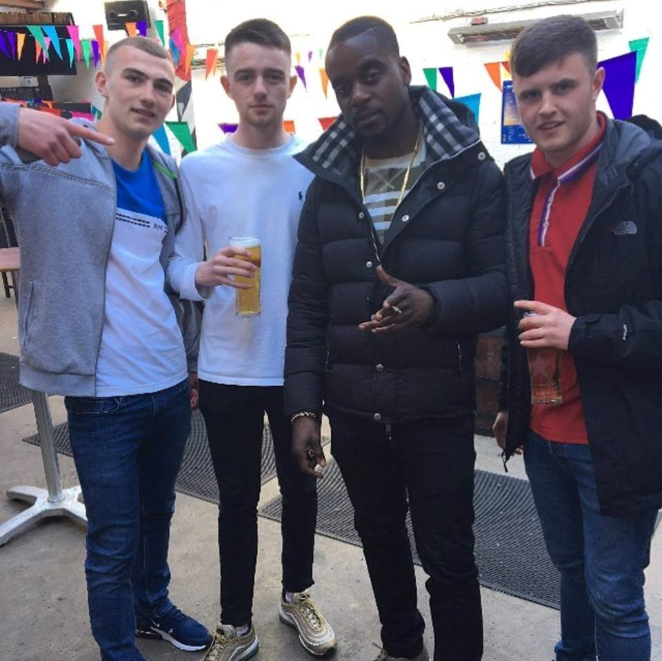 Skrapz and the lads