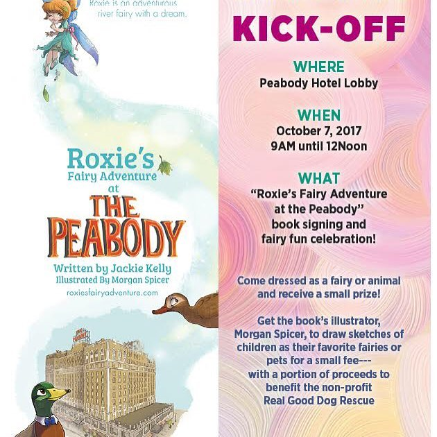 Come join us Saturday, October 7th! #901memphis #memphis #fairies #roxie #roxiesfairyadventure #peabodymemphis #lanskybros
