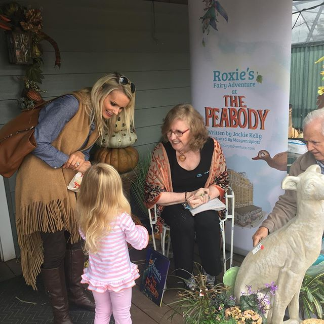"Today was magical! Thanks to all Roxie's new friends for a ""fairy"" fun day at #CountryGardens near @agricenterinternational. Stay tuned for where Roxie is heading next!"