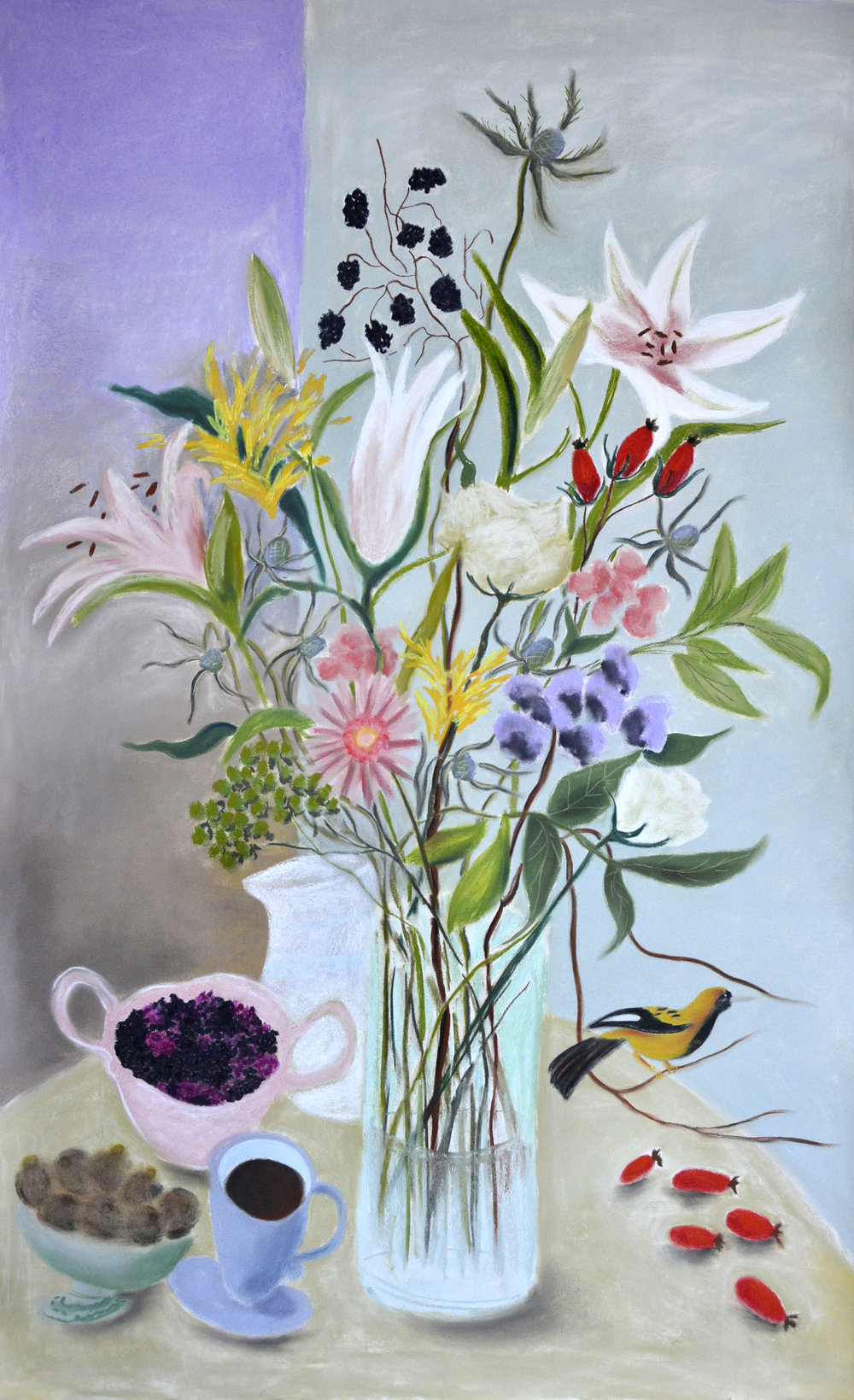 Lillies and Blackberries.jpg