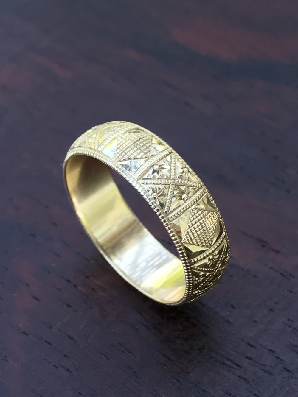 custom wedding band