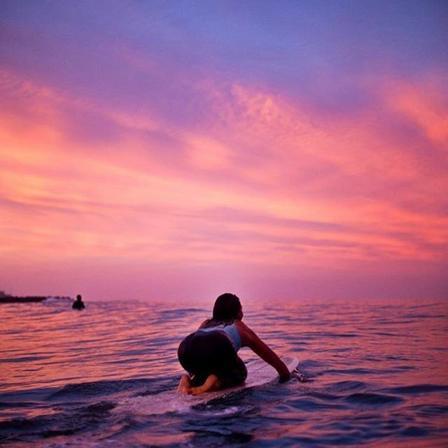 I know you wanted a lighthouse Something that drenched the surrounding seas with gold, matching the burning stars above inside those nights the waters were dark. But darling, you have always been and are  and will be the light. #thatsunsettonight 😍#victoriaerickson #sunset #surfer #yoga #inspiration #california