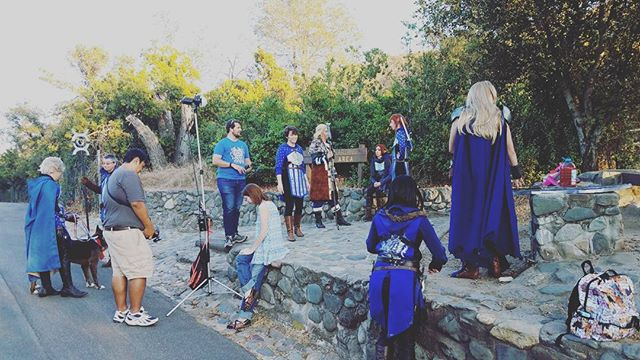 Hanging out at the @wardensofthewest kickoff! . . . . . . #wardens #wardensofthewest #dragonage #dragonagecosplay #cosplay #cosplayguild #photoshoot