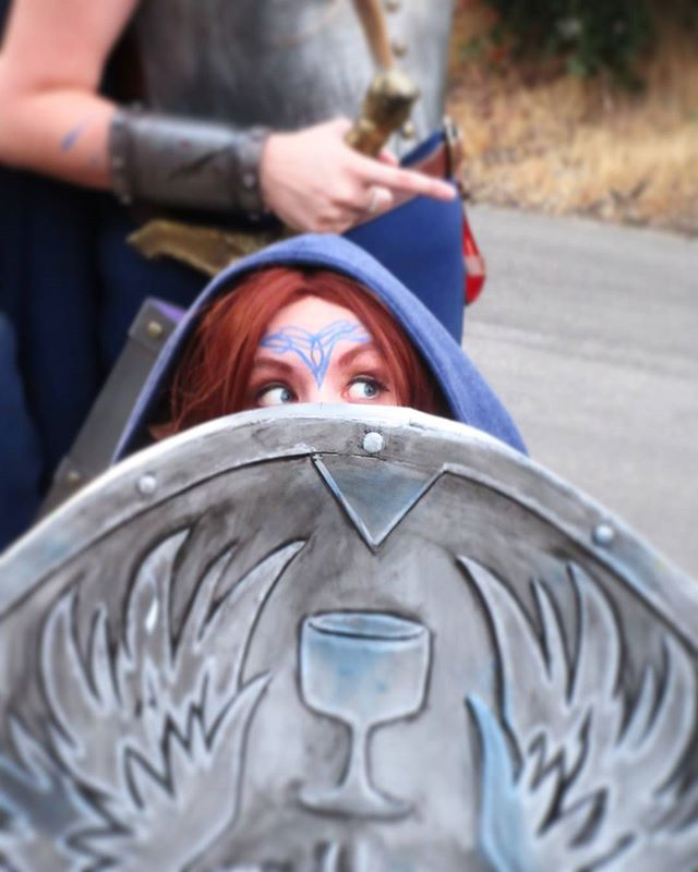 Our @wardensofthewest kickoff review is going up tomorrow! We got some preeeetty cool behind the scenes of the event and the guild, if we do say so ourself. . . . . . . #blog #dragonage #dragonagecosplay #cosplay #wardens #wardensofthewest #cosplayguild