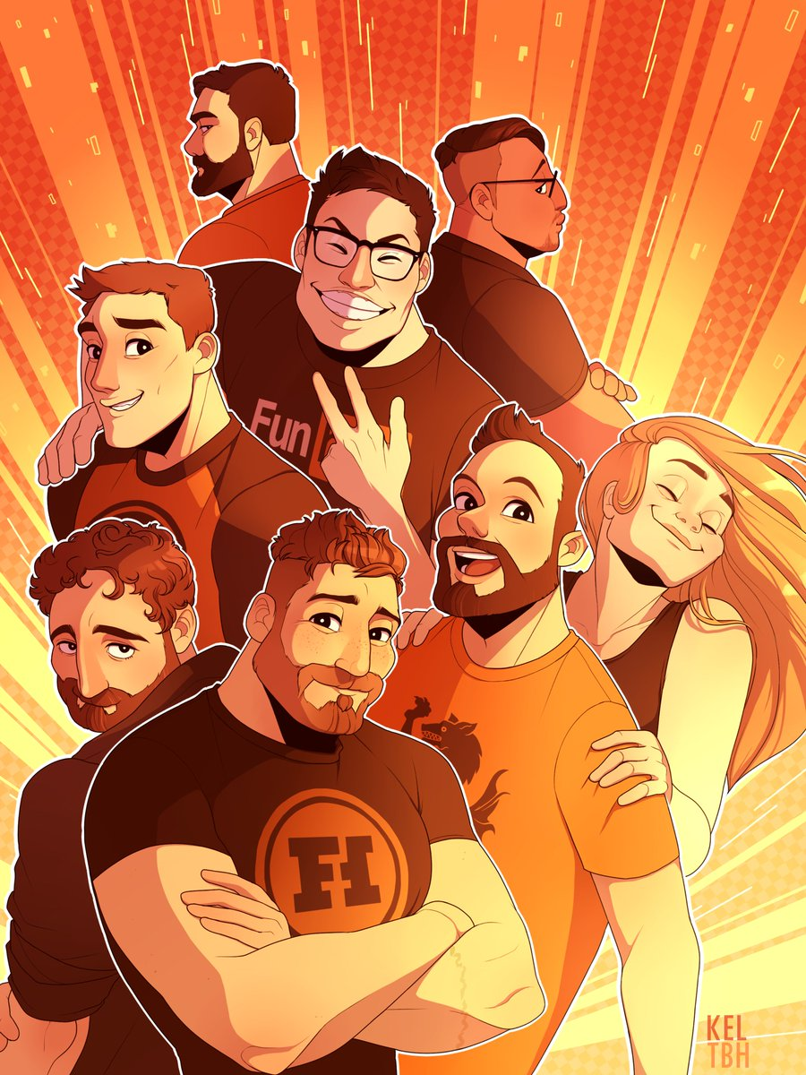 This art is available as a poster in the  Rooster Teeth store !