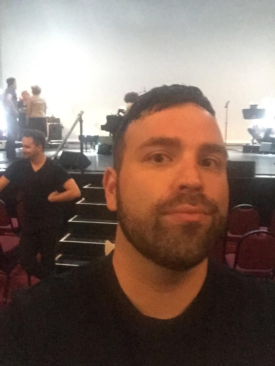post rehearsal selfie
