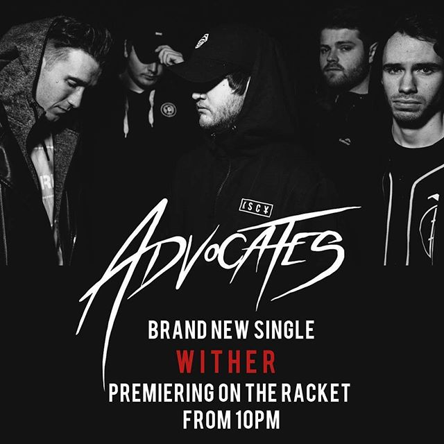 Massive track from @advocatesofficial up on @triplejracket tonight. Tune in from 10pm.