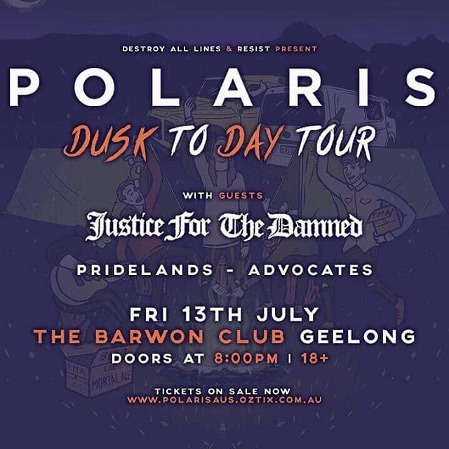 @advocatesofficial on a downright roll at the moment. Supporting @polarisaus in Geelong this July!