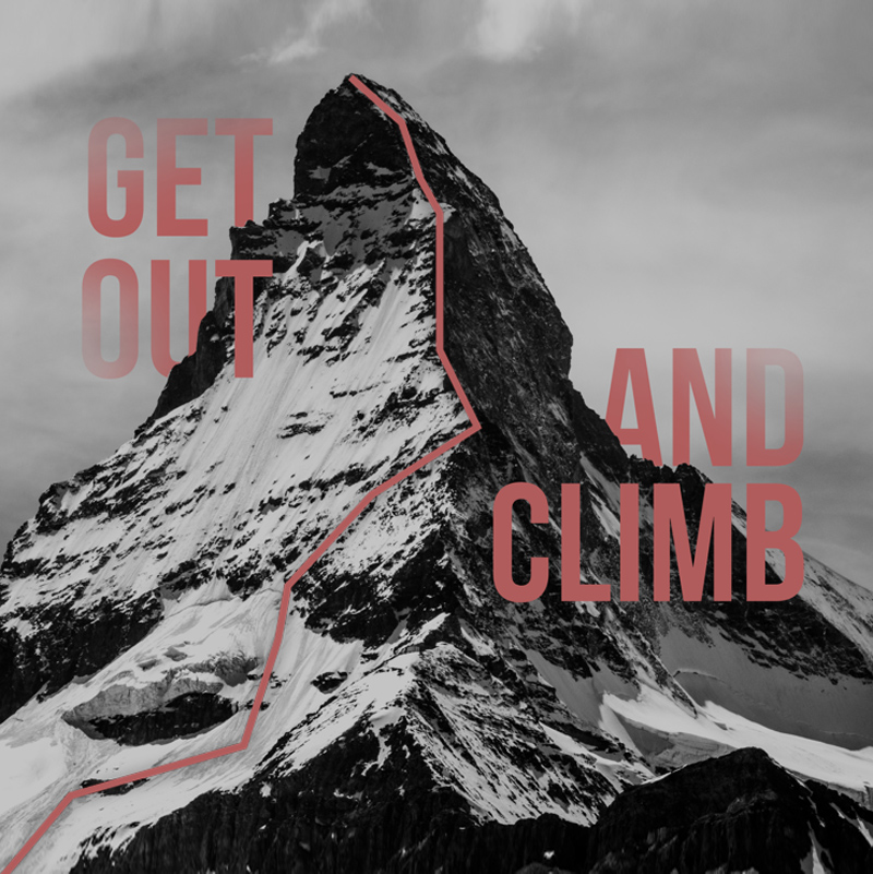 Mountaineering Web Design Concept