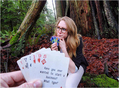 Maya Guy Co-Founder Basecamp Cards