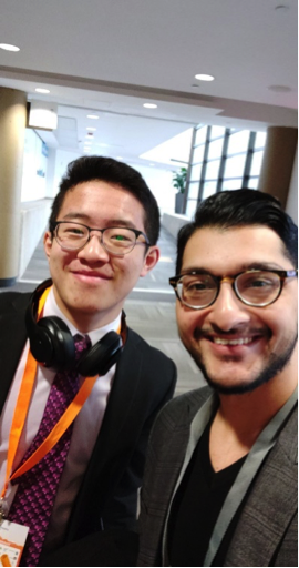 William an LOI connector currently in High School who already has a start-up and eager to be in University for computer Science