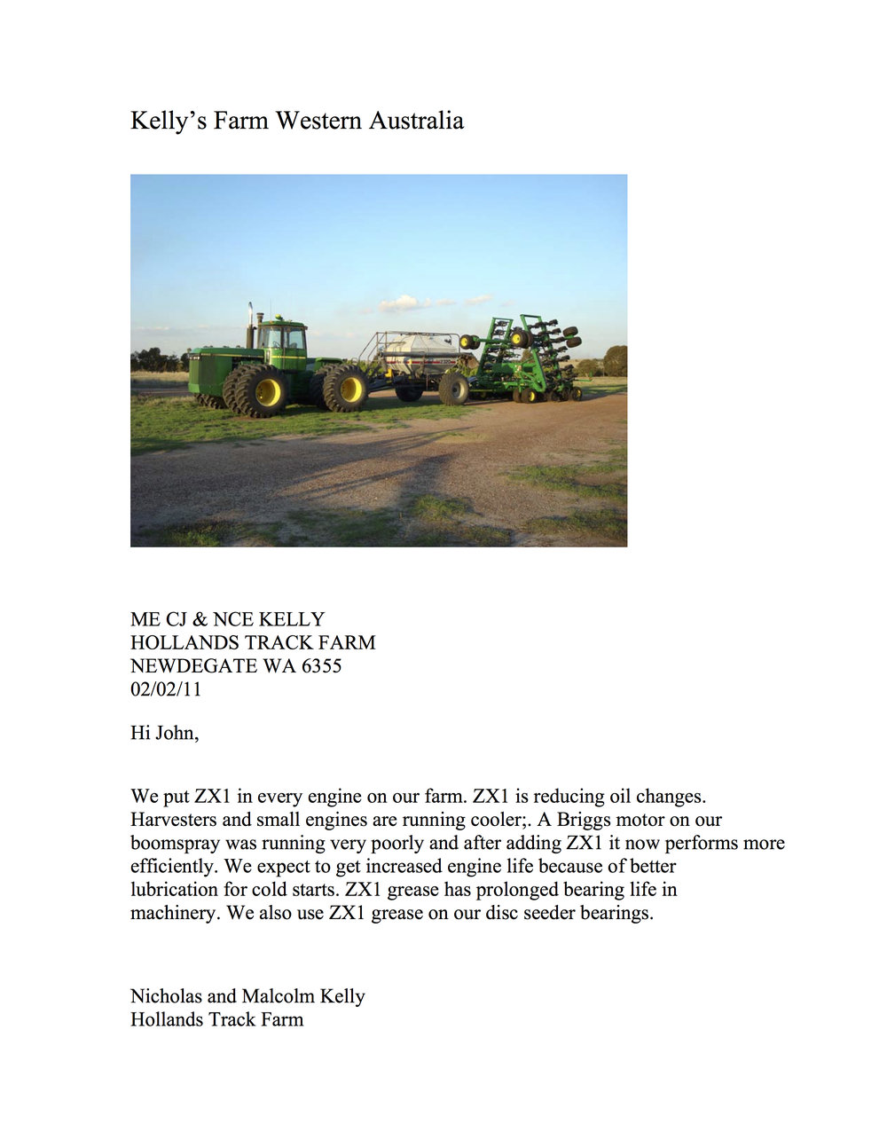 Kelly;s Farm ZX1 testimonial.jpg