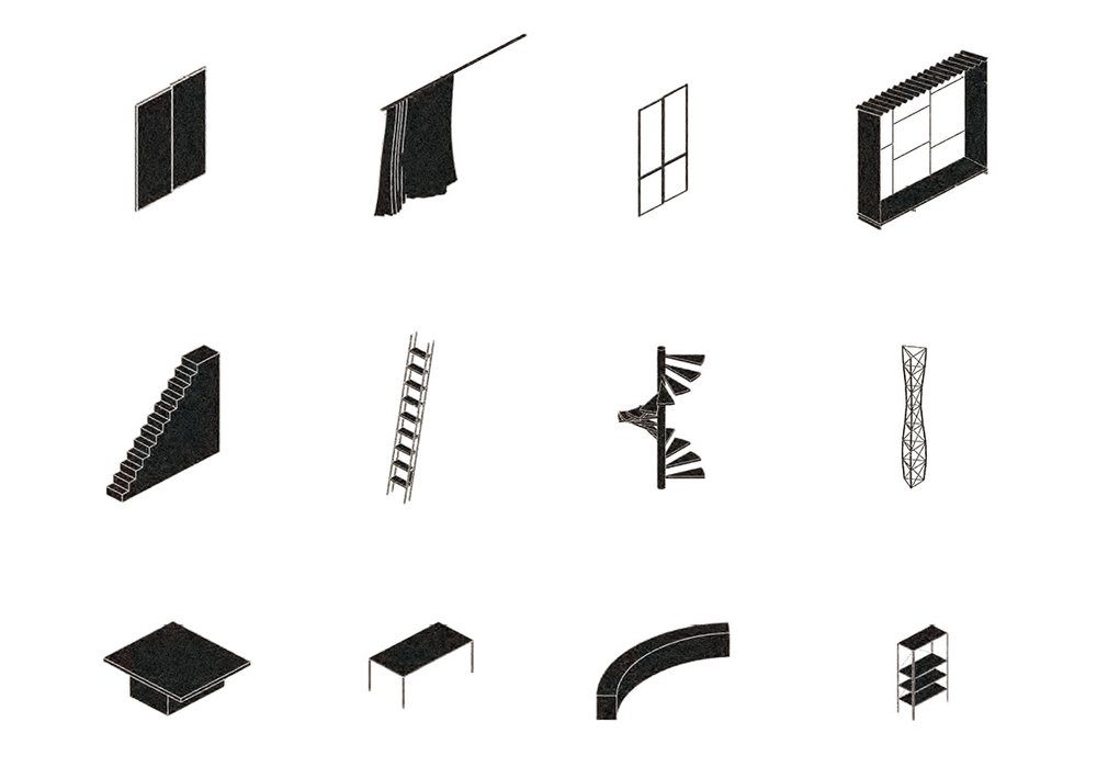 Production of customized building elements