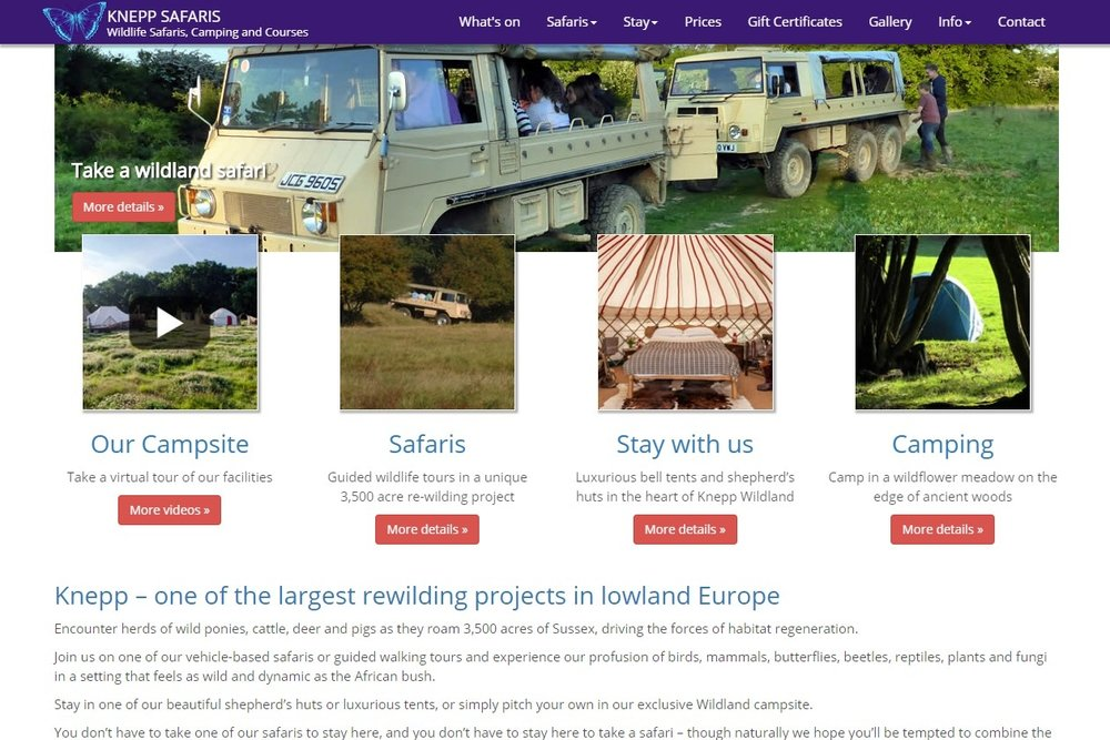 KNEPP SAFARIS       Wildlife Safaris, Camping and Courses