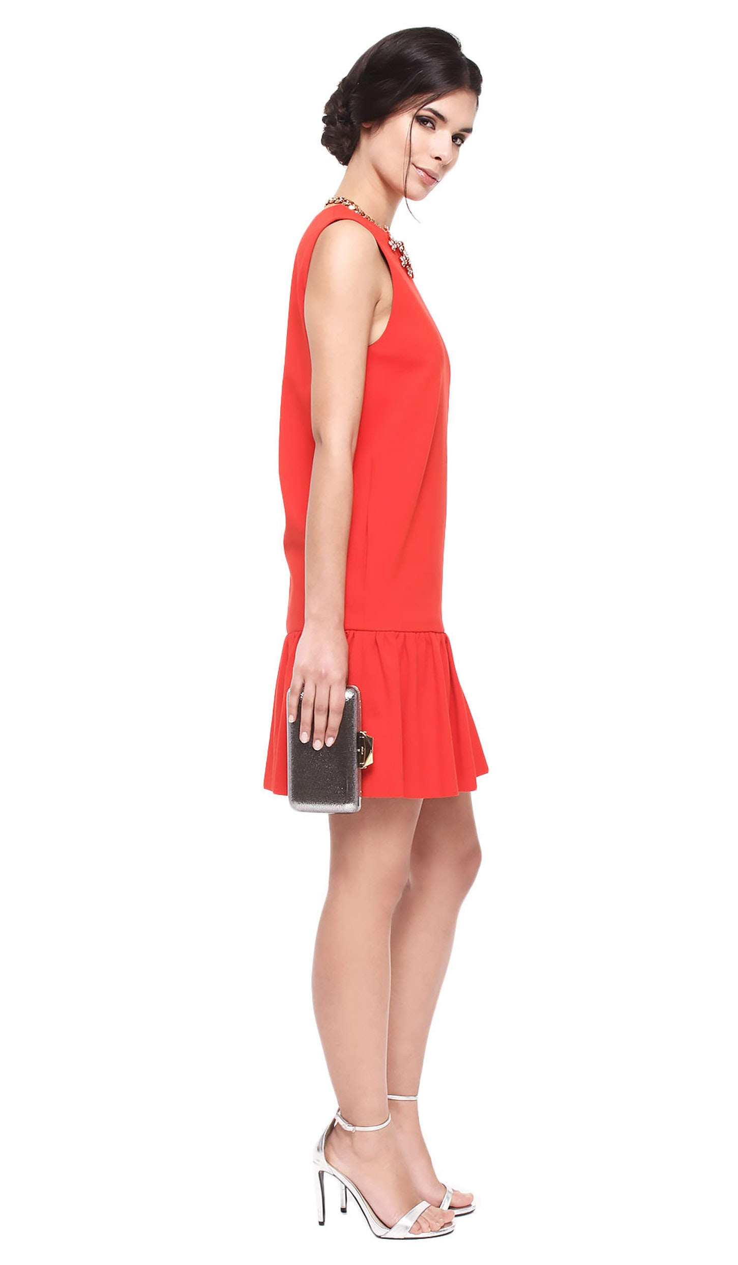 291252049ce Red Shift Dress - MSGM — Chic by Choice Sale
