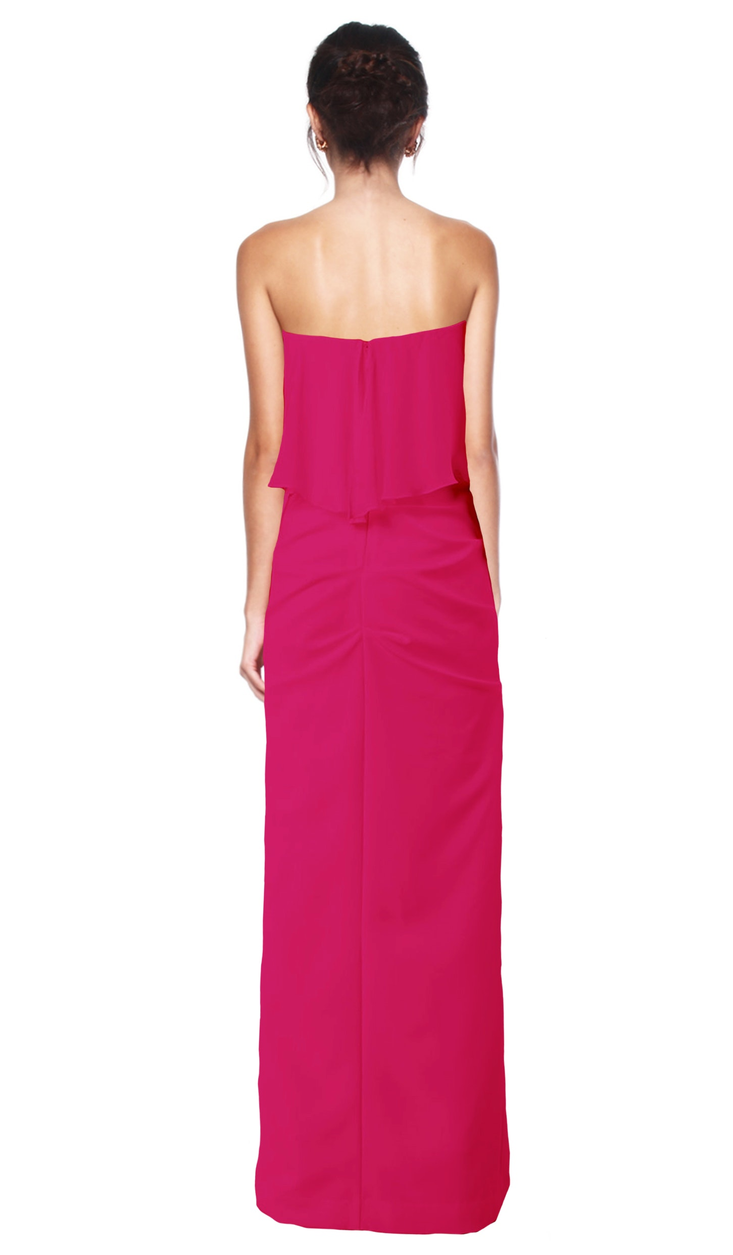 Strapless Combo Gown - NICOLE MILLER — Chic by Choice Sale