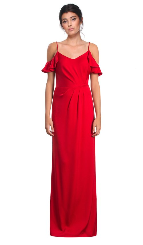Crepe Back Satin Manhattan Dress - SHOSHANNA — Chic by Choice Sale