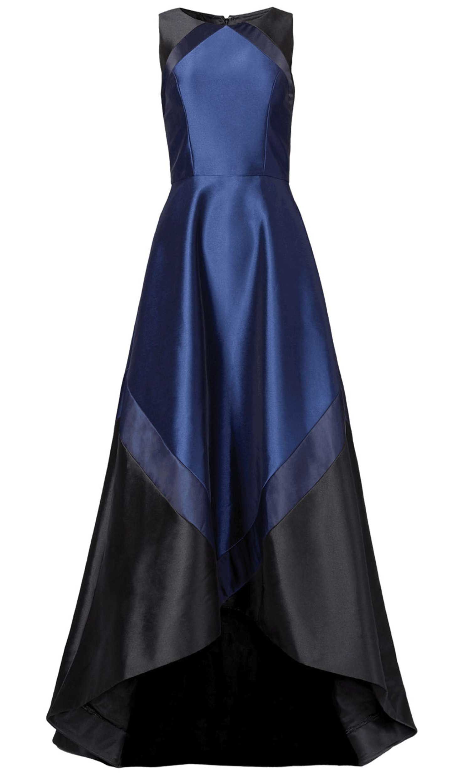 Navy Black Sleeveless Gown - THEIA COUTURE — Chic by Choice Sale