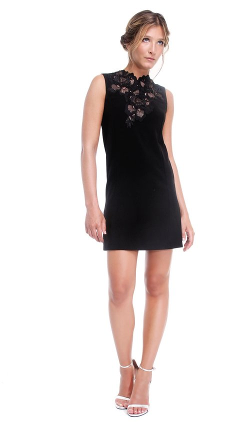 Little Black Lace Dress Bcbg Max Azria Chic By Choice Sale