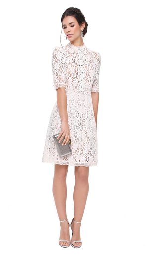 51401614966 White Lace Dress - ALICE BY TEMPERLEY ...