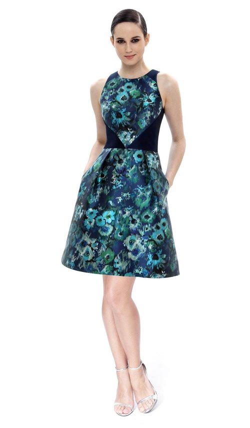 Floral Cocktail Dress - THEIA COUTURE — Chic by Choice Sale