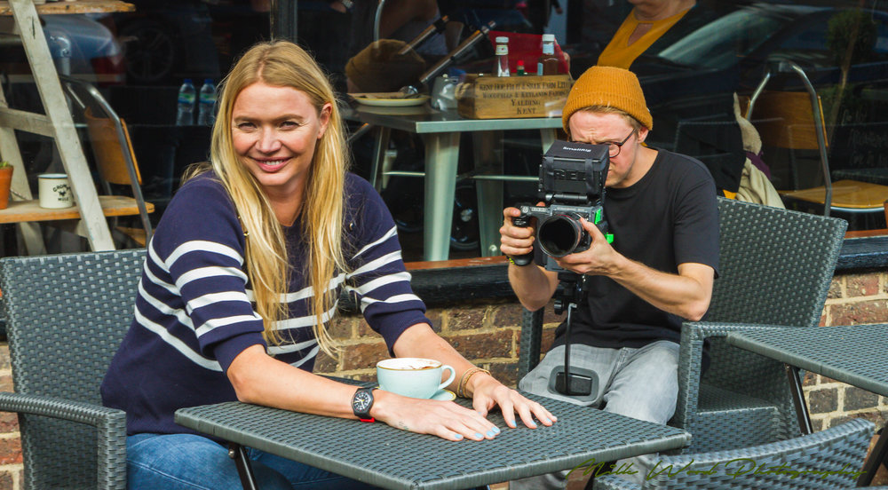 Jodie Kidd & Matt Farman (Seeing Shapes)