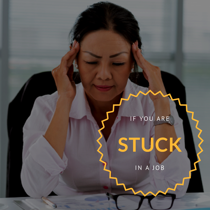 Stuck in a job.... - On a lot of days, its hard getting out of bed to go to work. You've never really enjoyed what you do but you've always had financial obligations. You feel like there's something deep inside you, something great, waiting to emerge. Something you want to share with the world..