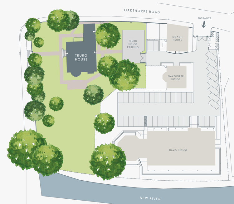 Floor Plans — Truro House