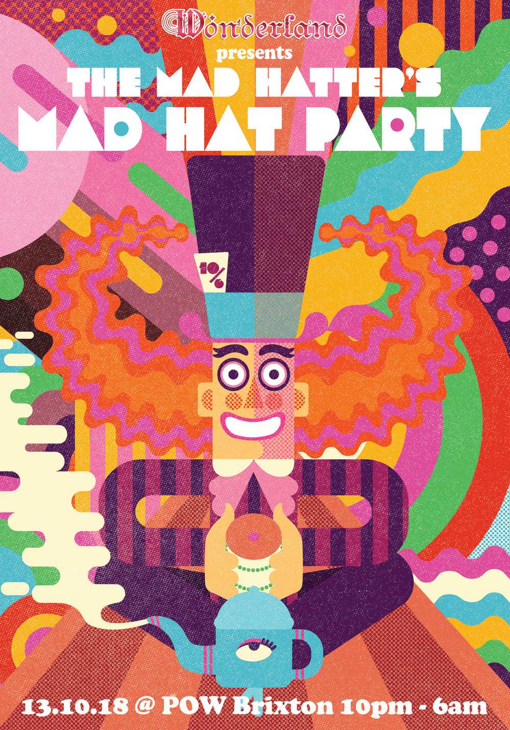 The Mad Hatter's Mad Hat Party