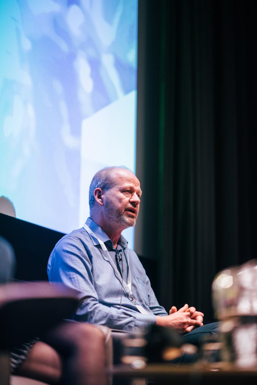 Tjalling Erkelens, PDG de Bedrocan lors de la première édition de Cannabis Europa à Londres.