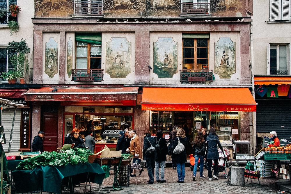 Rue Mouffetard Market -