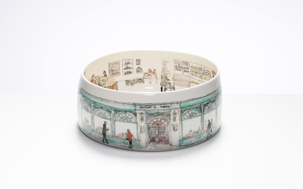 Helen Beard - Helen Beard produces the finest porcelain based illustrative ceramics in the UK. From her Dailyware collections to her bespoke commissions, each and every piece produced is distinctively Helens. From winning awards to having work in permanent national museum collections, Helen's work has also been sold through Fortnum and Masons, The National Gallery and Heals. The collections have been featured in press and publications across the world.