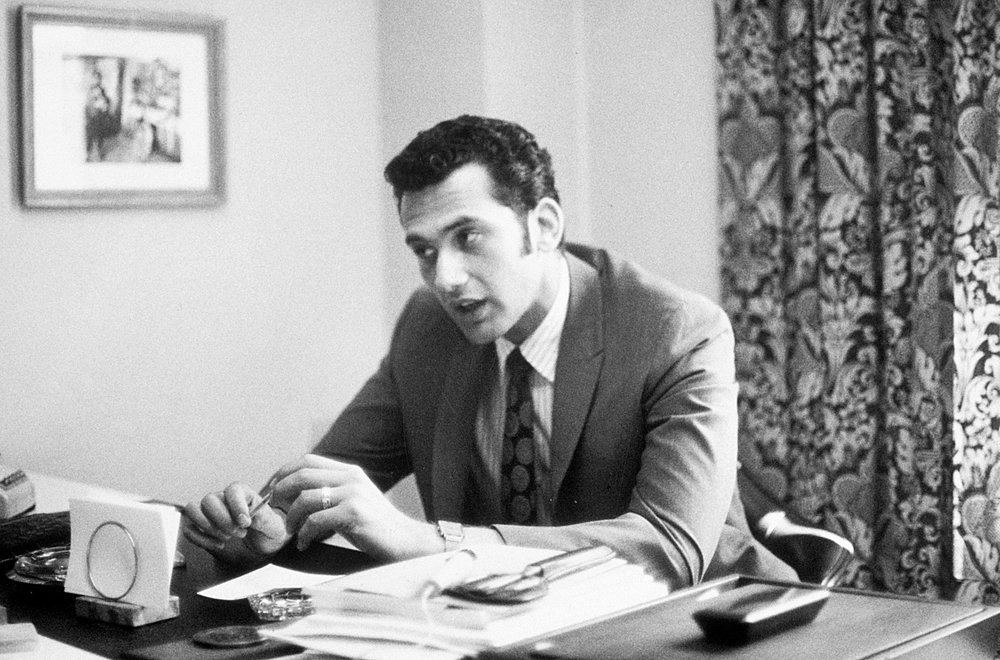 Joel Lefkowitz circa 1968; Founder of the Doctoral Program in I-O Psychology