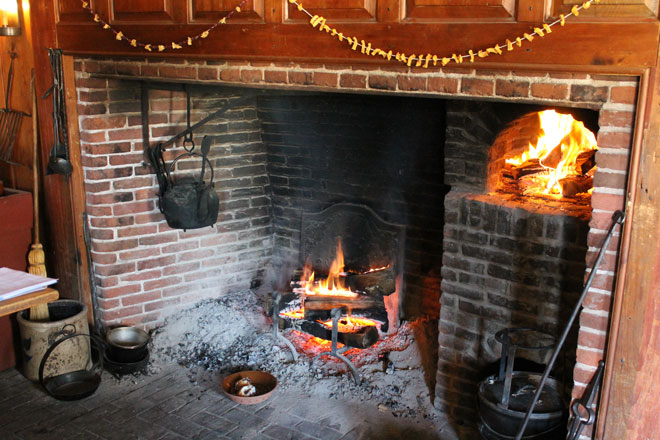 Open Hearth Cooking Demonstration Tavern Fare Historic Deerfield