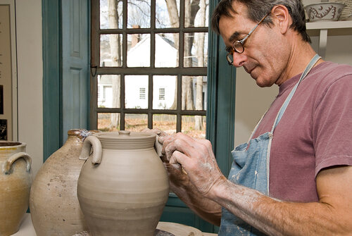 Historic Trade Demonstrations: Potters Weekend