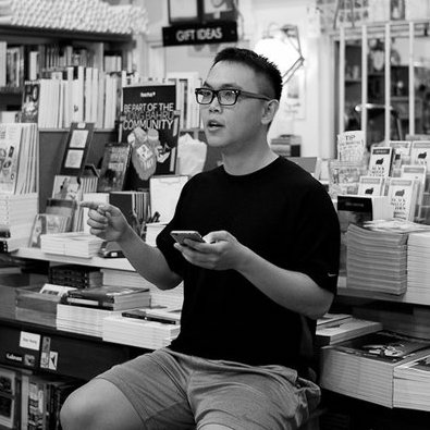 Joshua Ip is a Singaporean poet, editor, and literary organiser. He has published three poetry collections with Math Paper Press, won the Singapore Literature Prize for his debut, sonnets from the singlish (2012), and placed in three different categories of the Golden Point Award. His work has appeared in Monocle, Esquire, Quarterly Literary Review Singapore, Cha: An Asian Literary Journal, Softblow and other places. He has edited seven anthologies, including the A Luxury We Cannot Afford and the SingPoWriMo series. He is working on a graphic novel, Ten Stories Below. He is the recipient of the 2017 Young Artist Award from the National Arts Council of Singapore. He is the founder of Sing Lit Station, a literary charity that runs community initiatives including SingPoWriMo, Manuscript Bootcamp, poetry.sg and several workshop groups.